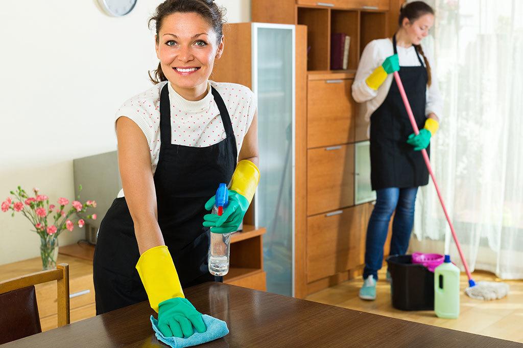 แม่บ้านทำความสะอาด
